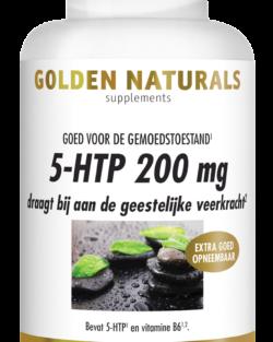 Golden Naturals 5-HTP 200 mg 60 veganistische capsules