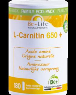 Be-Life L-Carnitin 650 – 180 capsules
