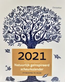 Scheurkalender 2021: Natuurlijk geïnspireerd