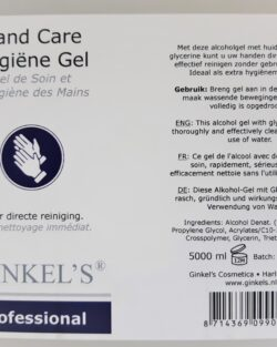 Desinfecterende handgel Jerrycan – 5000 ml