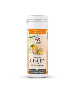GINJER® Original Gember kauwgom sinaasappel – 30gr