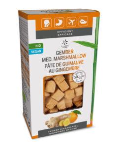 GINJER® Original Gember cubes (marshmallows) sinaasappel BIO – 60gr