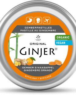 GINJER® Original Gember pastilles sinaasappel BIO – 40gr