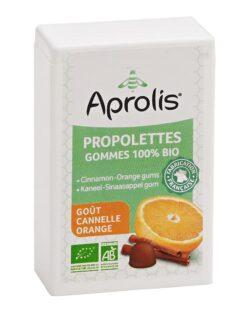Aprolis Propolis Kaneel Sinaasappel Gommetjes BIO – 50gr