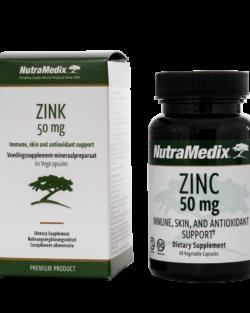 NutraMedix Zink 50mg – 60 vegicaps
