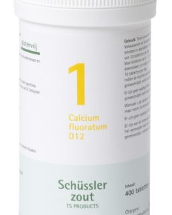 Schussler zout Pfluger Nr 1 Calcium Floratum D12 – 400 tabletten