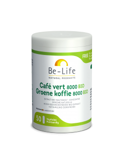 Be-Life Groene koffie 8000 BIO – 50 caps