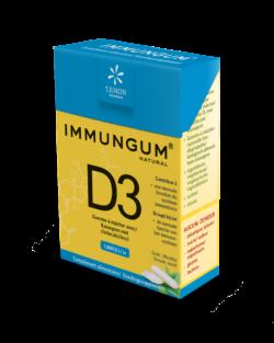 immungum vitamine D3 kauwgom